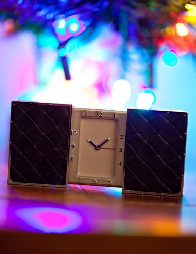 Bottega Veneta Intrecciato Vaglia Clock