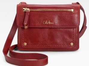 Cole Haan Marabelle Double Flab Leather Bag