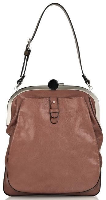 Marni Leather Frame Bag