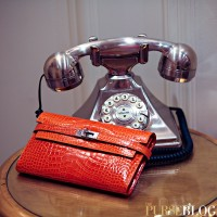Hermes Kelly Wallet with Plaza Detail