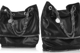 Stella McCartney Chain Faux Leather Bag