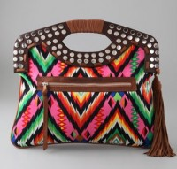 Twelth St by Cynthia Vincent Outlaw Clutch