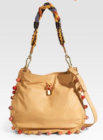 Marc Jacobs Beaded Daisy Shoulder Bag