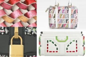 Follow the Rainbow to Multicolored Handbags