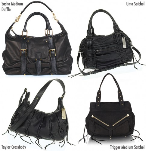 Botkier Handbag Silhouettes