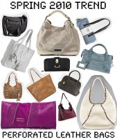 Perforated Leather Bags