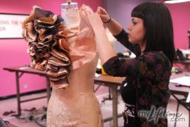 "Project Runway: ""She could go to a garden party and steal champagne bottles."""
