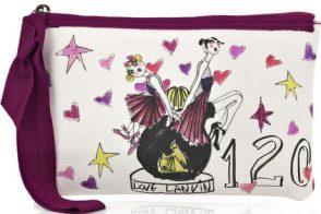 Lanvin Love Canvas Pochette