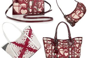 Burberry Heart Print Bags
