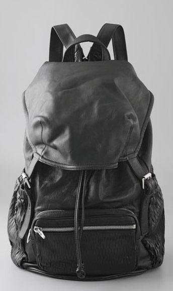 Leather Backpack Sydney - Backpack Her
