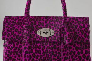 Mulberry Cheetah Haircalf Bayswater Tote