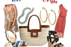 One Bag, Two Ways: Kate Spade Folly Beach Benedicta Straw Satchel