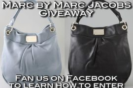 Facebook Giveaway: Marc by Marc Jacobs Bag