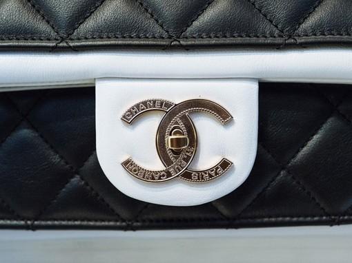 Chanel Flap Bag Up Close