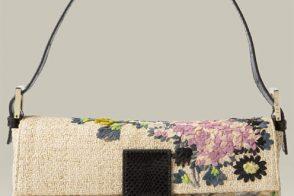 Fendi Floral Baguette