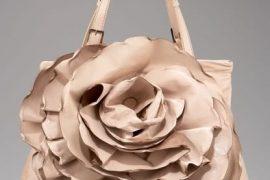 Valentino Raised-Rose Tote
