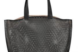 Alaïa Perforated Leather Bag
