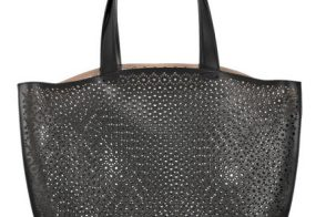 Alaïa Perforated Leather Bag