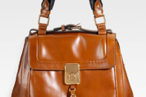 Chloé goes glossy with the Darla Shoulder Bag