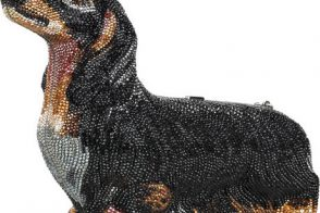 Love Dachshunds? Then This Judith Leiber Crystal Clutch is for You