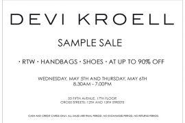 Devi Kroell Sample Sale