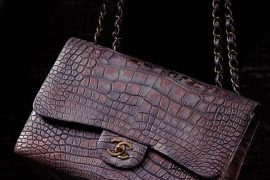 Chanel Classic Flap Bag in Alligator Skin