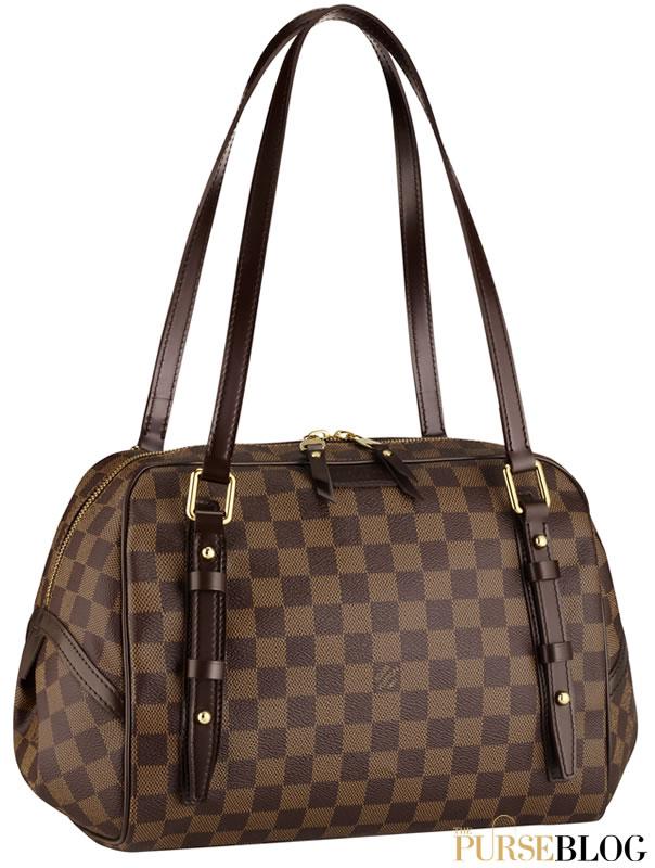 First Look: Louis Vuitton Damier Rivington - PurseBlog - 604 x 800  90kb  jpg