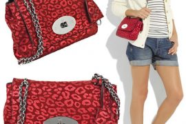Mulberry Jumps on the Leopard Trend with their Lily Bag