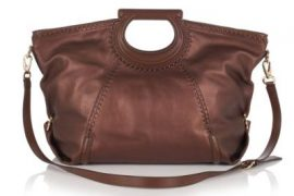This Salvatore Ferragamo bag has actually managed to make me like brown