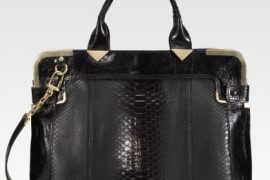 Versace makes a sleek, luxurious bag – quelle surprise!