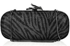 Diane Von Furstenberg's box clutches are chic on a budget