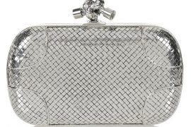 Want something more luxe than leather? Try sterling silver with Bottega Veneta