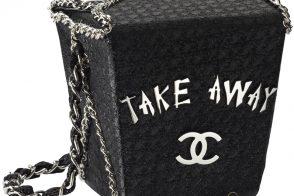 Chanel Take Away Box Bag