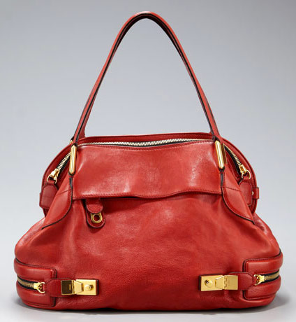 purse chloe - Chlo??'s latest bag is red all over - PurseBlog