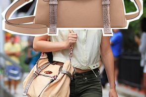 Who's that girl with her Mulberry Alexa?