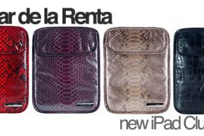 Fashion meets Technology: Oscar de la Renta iPad Clutches