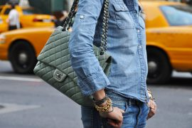 Chanel can make even an all-denim outfit work