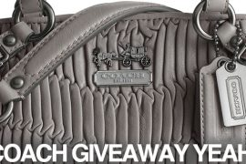 PB guest blogs, new Coach Giveaway!