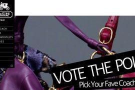 PurseBlog & Coach Need YOUR vote