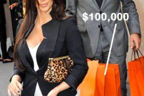 Kim Kardashian spent $100,000 on handbags at Hermes Paris