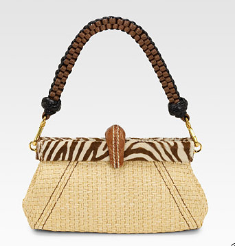 Prada Bags 2011 Collection. Larger photos and purchasing information, after the jump. Prada Paglia Twist Straw Shoulder Bag, $1950 via Saks.