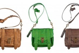 Proenza Schouler's PS1 Pouch crossbody now available