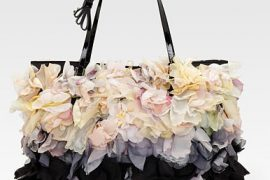 Valentino unbuttons its floral aesthetic just a little bit