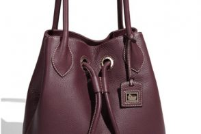 Dooney & Bourke makes a surprisingly sophisticated drawstring tote