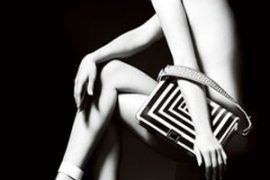 January Jones is the new face of Versace accessories