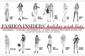 Shop the Shopbop.com Fashion Insiders' Wish Lists