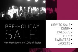 The ShopBop Pre-Holiday Sale has tons of new markdowns!
