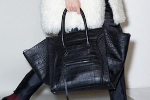 Spotted: Celine Pre-Fall 2011 Crocodile Luggage Tote