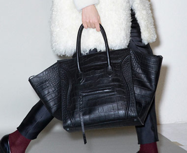celine tote bag replica - Spotted: Celine Pre-Fall 2011 Crocodile Luggage Tote - PurseBlog