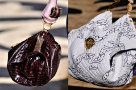 Fashion Week Handbags: Versace Fall 2011